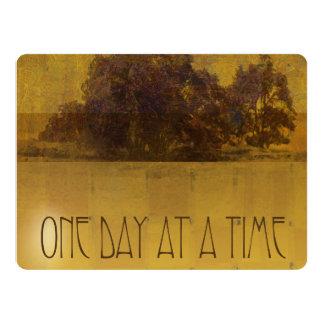 ODAT Oaks by Lake Square 17 Cm X 22 Cm Invitation Card