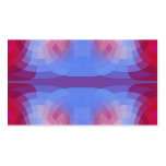 Odd Abstract in Blue and Pink Business Card
