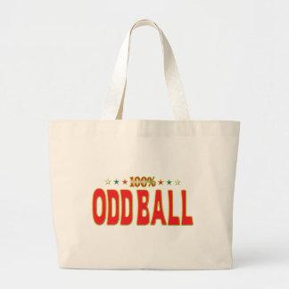 Odd Ball Star Tag Canvas Bags