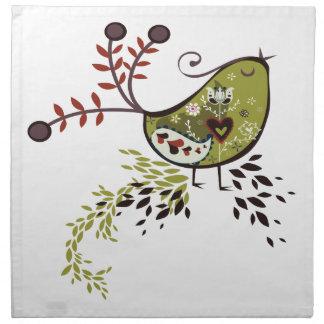 Odd Bird Napkin