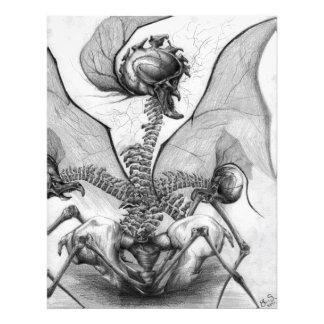Odd Bone Fellow Horror Monster Art Photo Print