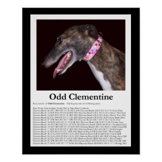 Odd Clementine - Winning Races Posters
