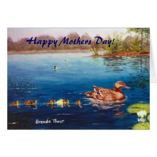 Odd Duck Out, Happy Mothers Day! Greeting Card