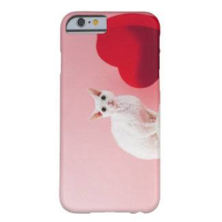 Odd-eyed cat barely there iPhone 6 case