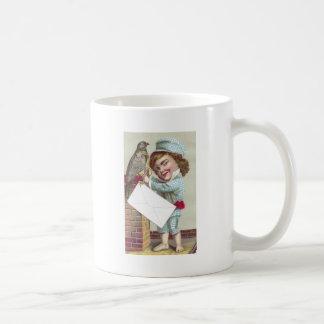 Odd Fellow Sending Pigeon Post Coffee Mug