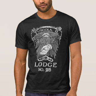 Odd Fellows Memorial Ribbon Lodge Shirt