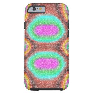 Odd multicolored pattern tough iPhone 6 case