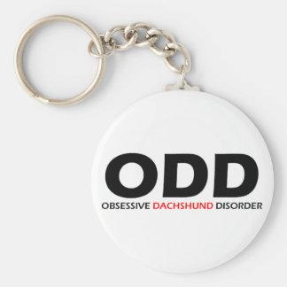 ODD - Obsessive Dachshund Disorder Key Ring