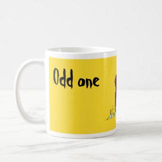 Odd one coffee mug