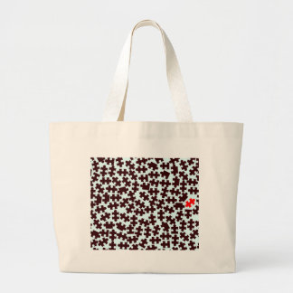 Odd One Out Large Tote Bag