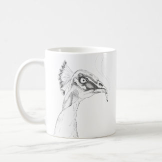 Odd Peahen Mug | Funny Birds with Attitude