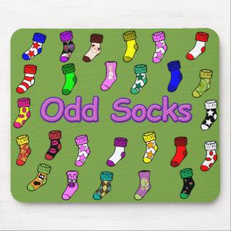 Odd Socks Mousepad Green