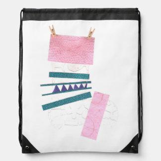Odd Stocking Drawstring Bag