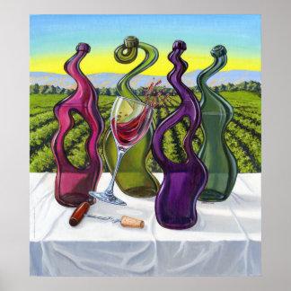 Odd Wine Poster