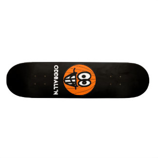 Oddball'n black skate deck