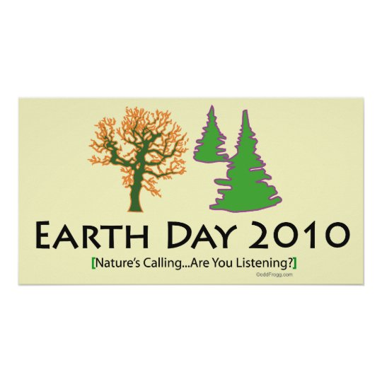 oddFrogg Earth  Day 2010 Poster