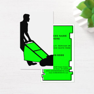 oddRex lawn services Business Card