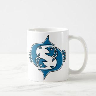 oddRex pisces Basic White Mug