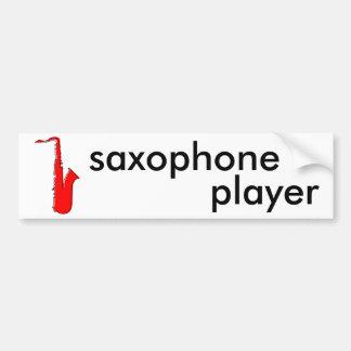 oddRex saxophone Bumper Sticker