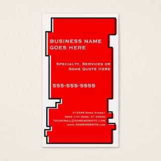 oddRex saxophone Business Card