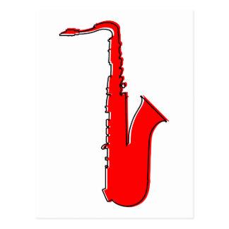 oddRex saxophone Postcard