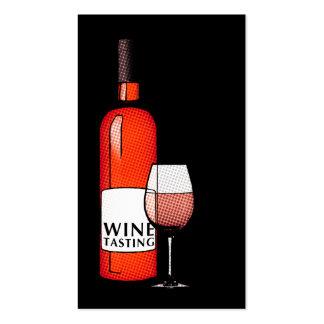 oddRex wine tasting Business Card Template