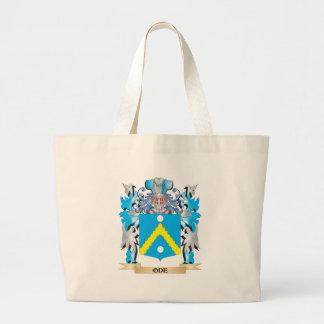 Ode Coat of Arms - Family Crest Jumbo Tote Bag
