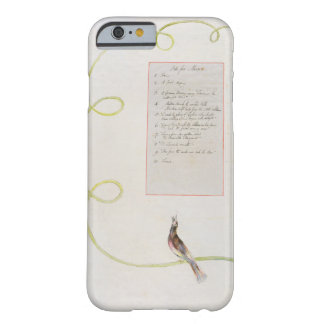 'Ode for Music' design 94 from 'The Poems of Thoma Barely There iPhone 6 Case