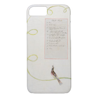 'Ode for Music' design 94 from 'The Poems of Thoma iPhone 7 Case