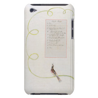 'Ode for Music' design 94 from 'The Poems of Thoma iPod Touch Case