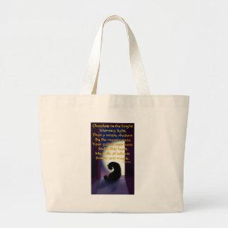 Ode to a Black Cat Jumbo Tote Bag