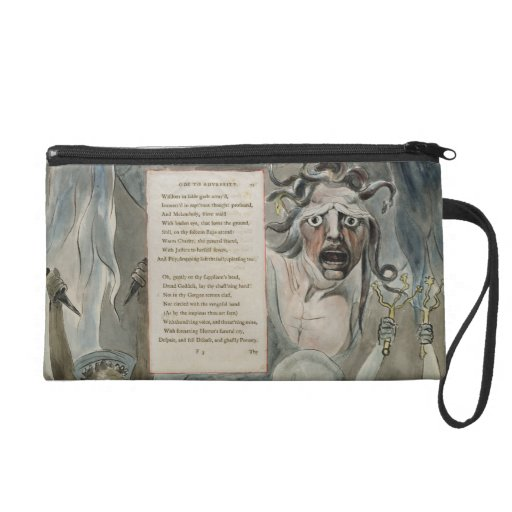 Ode to Adversity, from 'The Poems of Thomas Gray', Wristlet Purses