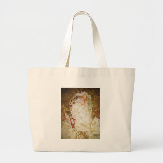 Ode To Klimt by Gustav Klimt Jumbo Tote Bag