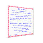 Ode to Liberty Gallery Wrapped Canvas