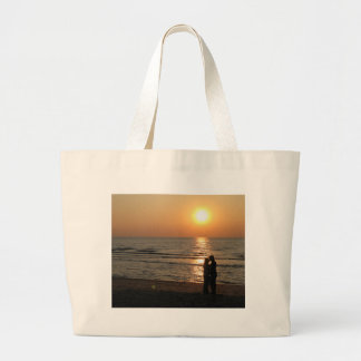 Ode to lovers large tote bag