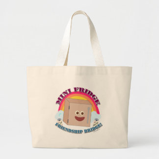 Ode to the Mini Fridge! Large Tote Bag