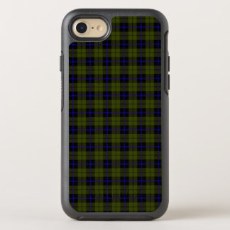 Odee army green with blue and black stripe OtterBox symmetry iPhone 8/7 case