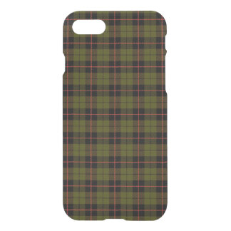 Odee army green, with red black stripe plaid iPhone 8/7 case
