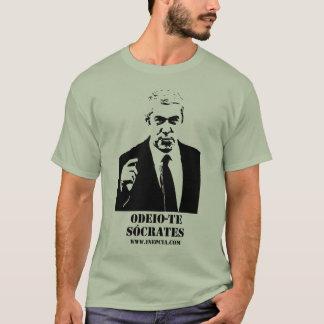 Odeio-te, Sócrates. T-Shirt
