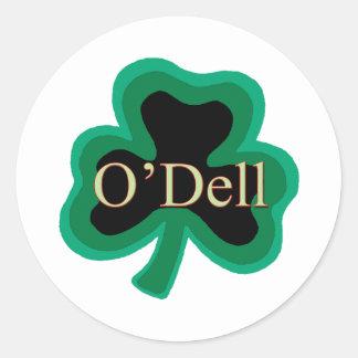 O'Dell Family Round Sticker