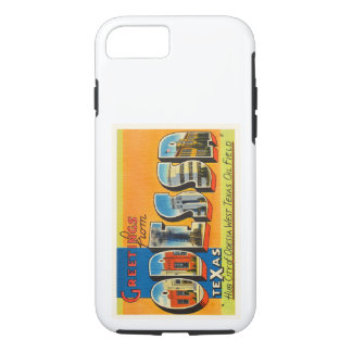 Odessa Texas TX Old Vintage Travel Souvenir iPhone 7 Case