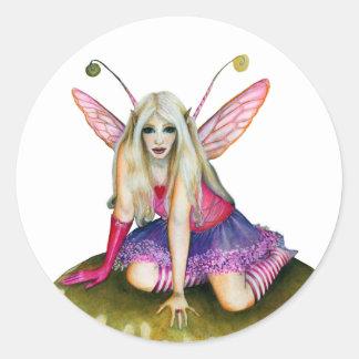Odette Faerie Classic Round Sticker