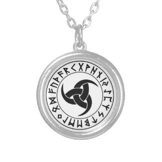 Odhroerir Rune Shield Jewelry