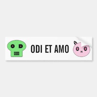 ODI et AMO Bumper Sticker
