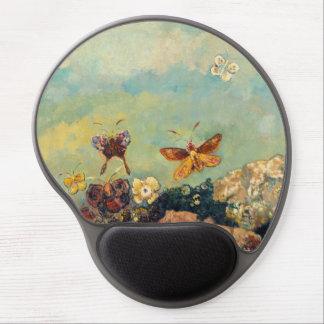 Odilon Redon Butterflies Vintage Symbolism Art Gel Mouse Mat