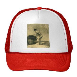 Odilon Redon- David and Goliath Trucker Hats