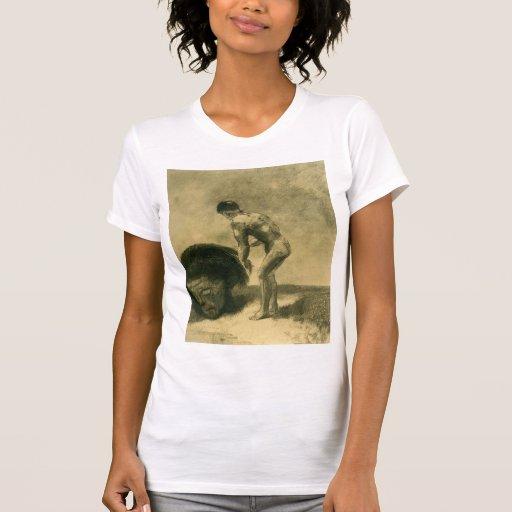 Odilon Redon- David and Goliath Tee Shirt