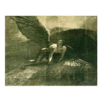 Odilon Redon- Fallen Angel Postcards