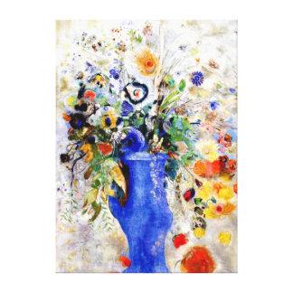 Odilon Redon - Large Bouquet Canvas Print