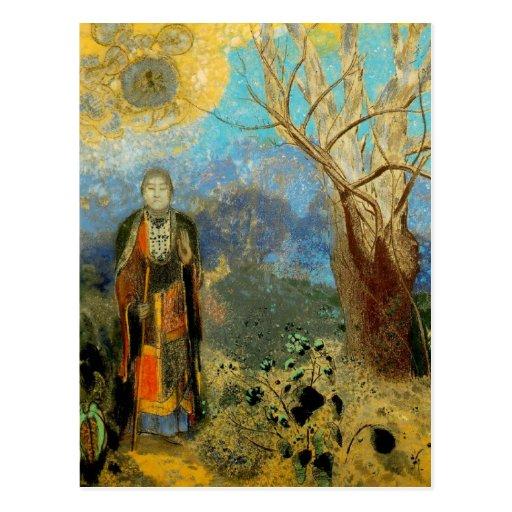 Odilon Redon - Le Bouddha Postcard